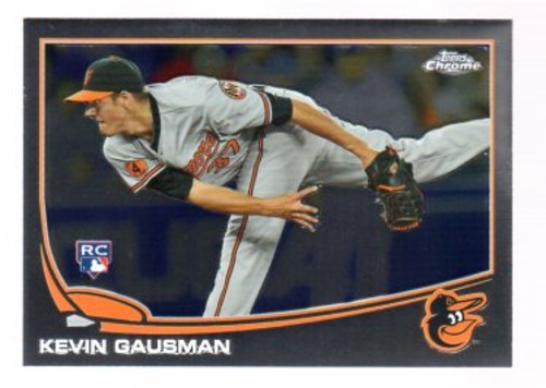 Photo of 2013 Topps Chrome #194 Kevin Gausman Rookie Card