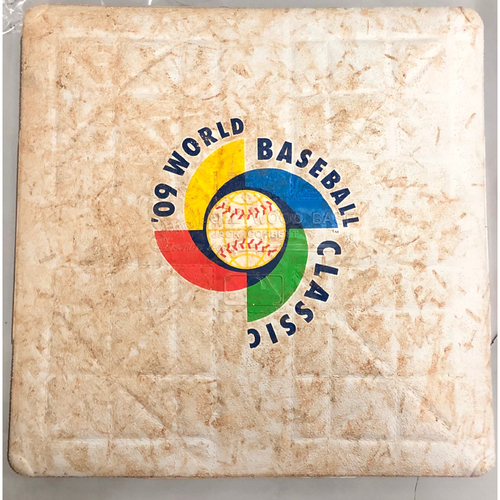 2009 World Baseball Classic Game Used Base- 1st Base (Entire Game) (United States vs. Japan)
