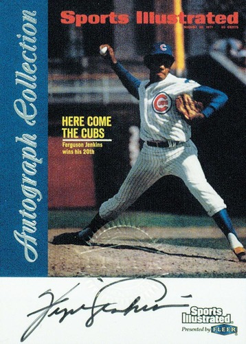 Photo of 1999 Sports Illustrated Greats of the Game Autographs #35 Ferguson Jenkins