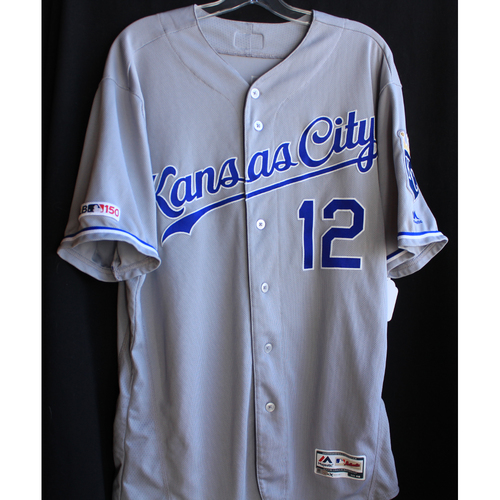 Photo of Game-Used Jersey: Jorge Soler 42nd and 43rd Home Runs of 2019 Season (Size 46 - 9/11/19 - KC @ CWS)