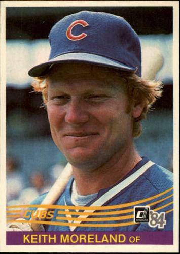 Photo of 1984 Donruss #483 Keith Moreland