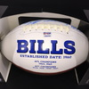 Bills - 2019 Team Signed Ball with 19 Signatures Including (Allen, Oliver, Alexander, Hughes, Gore, Allen, Jones, Haushka, Phillips, Milano, Beasley, Poyer, Edmonds, Demarco, Dawkins, Latuloli. Ford, Brown)