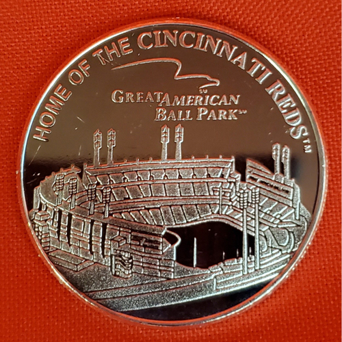 Photo of Great American Ball Park Silver Coin