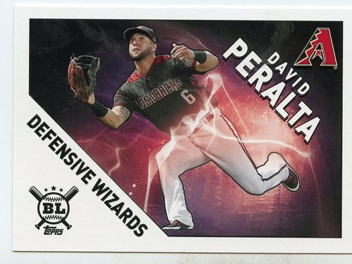 Photo of 2020 Topps Big League Defensive Wizards #DW8 David Peralta