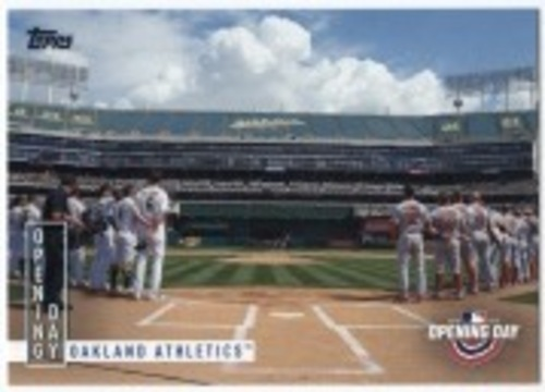 Photo of 2020 Topps Opening Day Opening Day #OD8 Oakland Athletics