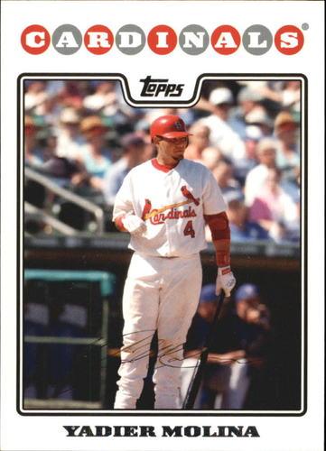 Photo of 2008 Topps #660 Yadier Molina