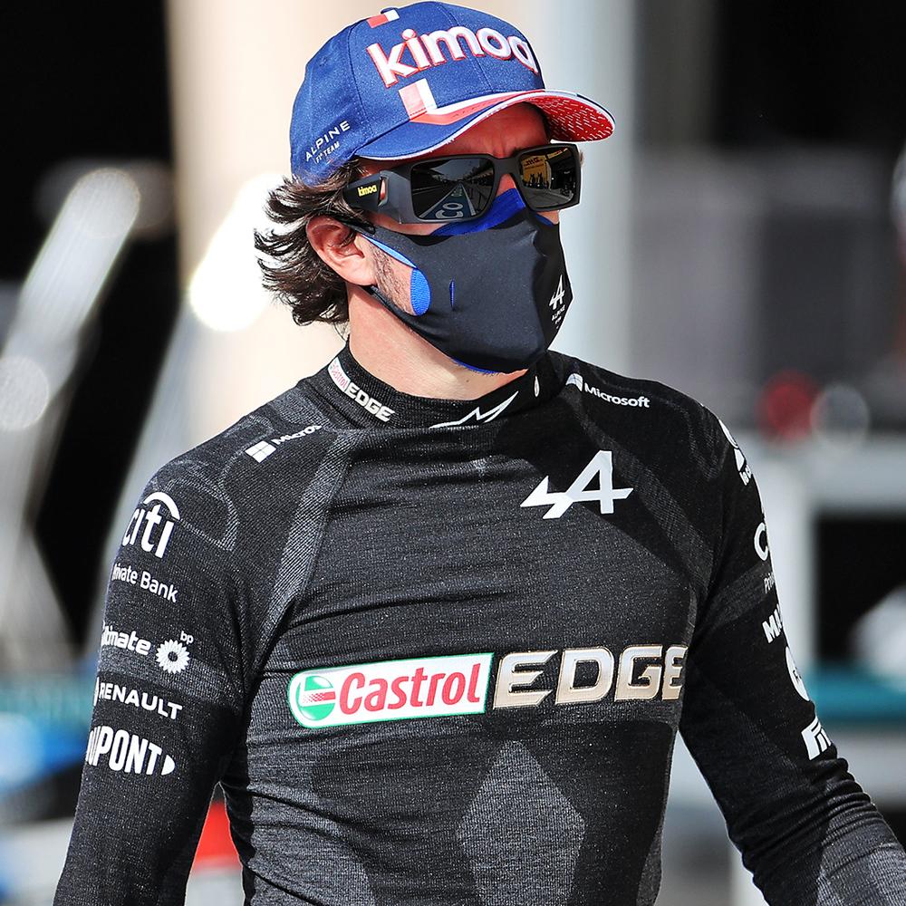 Fernando Alonso 2021 Framed Race-worn Nomex - Spanish GP