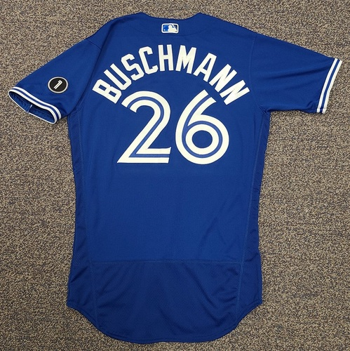 Photo of Authenticated Team Issued Jersey: #26 Matt Buschmann (2020 Season). Set 2. Size 42.