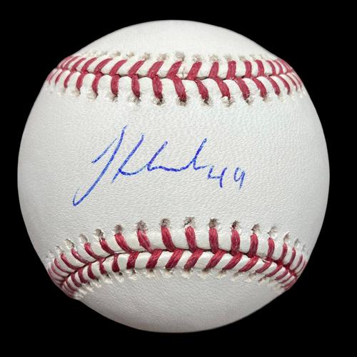 Jordan Hicks Autographed Baseball