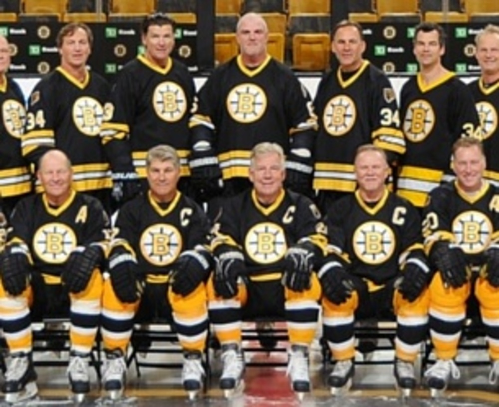 Play on the Boston Bruins Alumni Team - NHL Auctions Bruins Roster Nhl