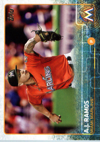 Photo of 2015 Topps Update #US195 A.J. Ramos