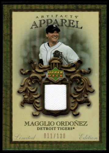 Photo of 2007 Artifacts MLB Apparel Limited #OR Magglio Ordonez