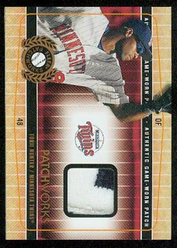 Photo of 2005 Fleer Patchworks Patch #TH Torii Hunter