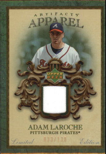 Photo of 2007 Artifacts MLB Apparel Limited #AL Adam LaRoche