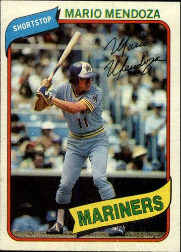 Photo of 1980 Topps #652 Mario Mendoza