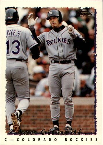 Photo of 1995 Topps #539 Joe Girardi