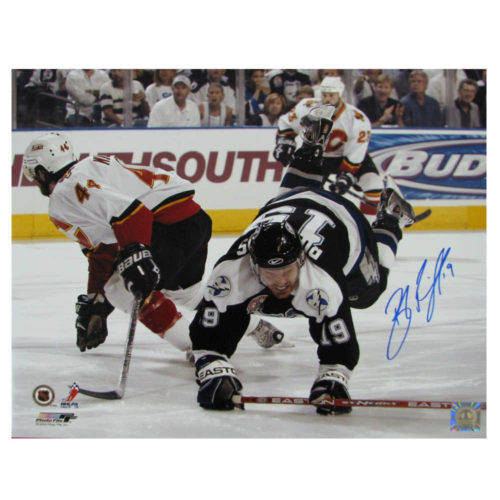 BRAD RICHARDS Signed Tampa Bay Lightning 16 X 20 Photo - 79019