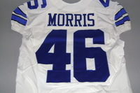 STS - COWBOYS ALFRED MORRIS GAME ISSUED COWBOYS JERSEY - SIZE 42