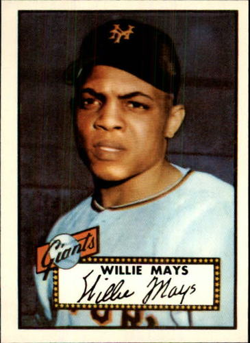 Photo of 1983 Topps 1952 Reprint #261 Willie Mays