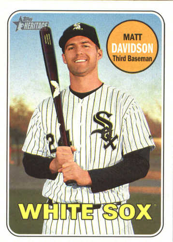 Photo of 2018 Topps Heritage #252 Matt Davidson