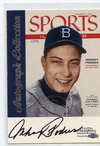 Photo of 1999 Sports Illustrated Greats of the Game Autographs #58 Johnny Podres