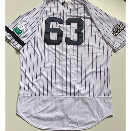 Photo of 2019 London Series - Game-Used Jersey - P.J. Pilittere, New York Yankees vs Boston Red Sox - 6/29/19