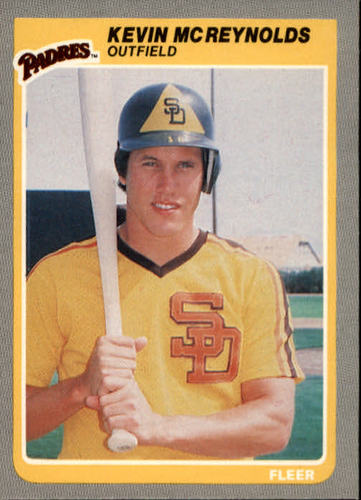 Photo of 1985 Fleer #41 Kevin McReynolds