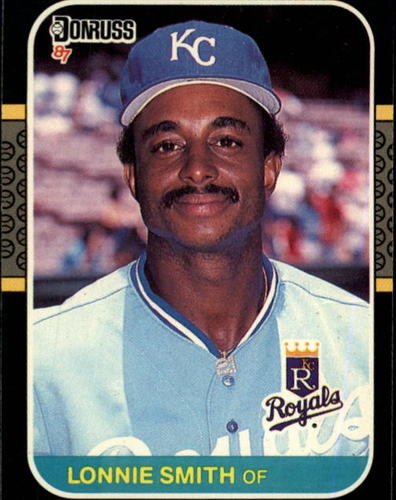 Photo of 1987 Donruss #225 Lonnie Smith