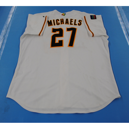 Photo of 2006 Inaugural World Baseball Classic: Carl Michaels Game-worn Team South Africa Home Jersey