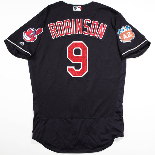 Photo of 2016 Spring Training - Spring Training Game Used Jersey - Shane Robinson (Indians)- Size- 44