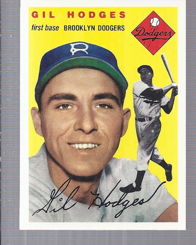 Photo of 1994 Topps Archives '54 #102 Gil Hodges