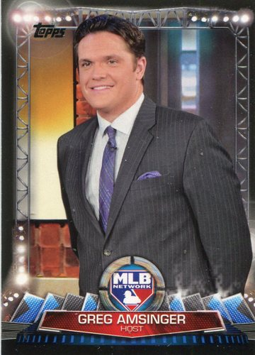 Photo of 2017 Topps MLB Network #MLBN3 Greg Amsinger