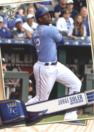 Photo of 2019 Topps Big League #227 Jorge Soler
