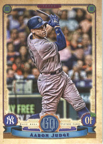 Photo of 2019 Topps Gypsy Queen #300 Aaron Judge