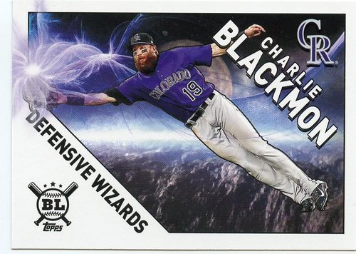 Photo of 2020 Topps Big League Defensive Wizards #DW10 Charlie Blackmon