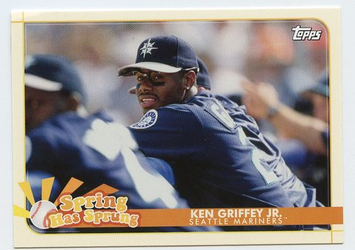 Photo of 2020 Topps Opening Day Spring Has Sprung #SHS8 Ken Griffey Jr.