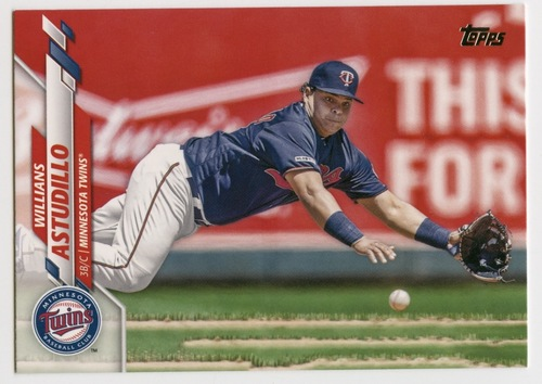 Photo of 2020 Topps #502 Willians Astudillo