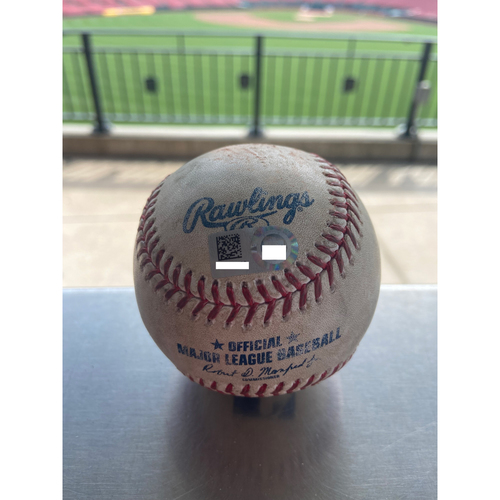 Photo of Cardinals Authentics: Game Used Baseball Pitched by Wander Suero to Paul Goldschmidt and Nolan Arenado *Strike out Goldschmidt, Line out Arenado*