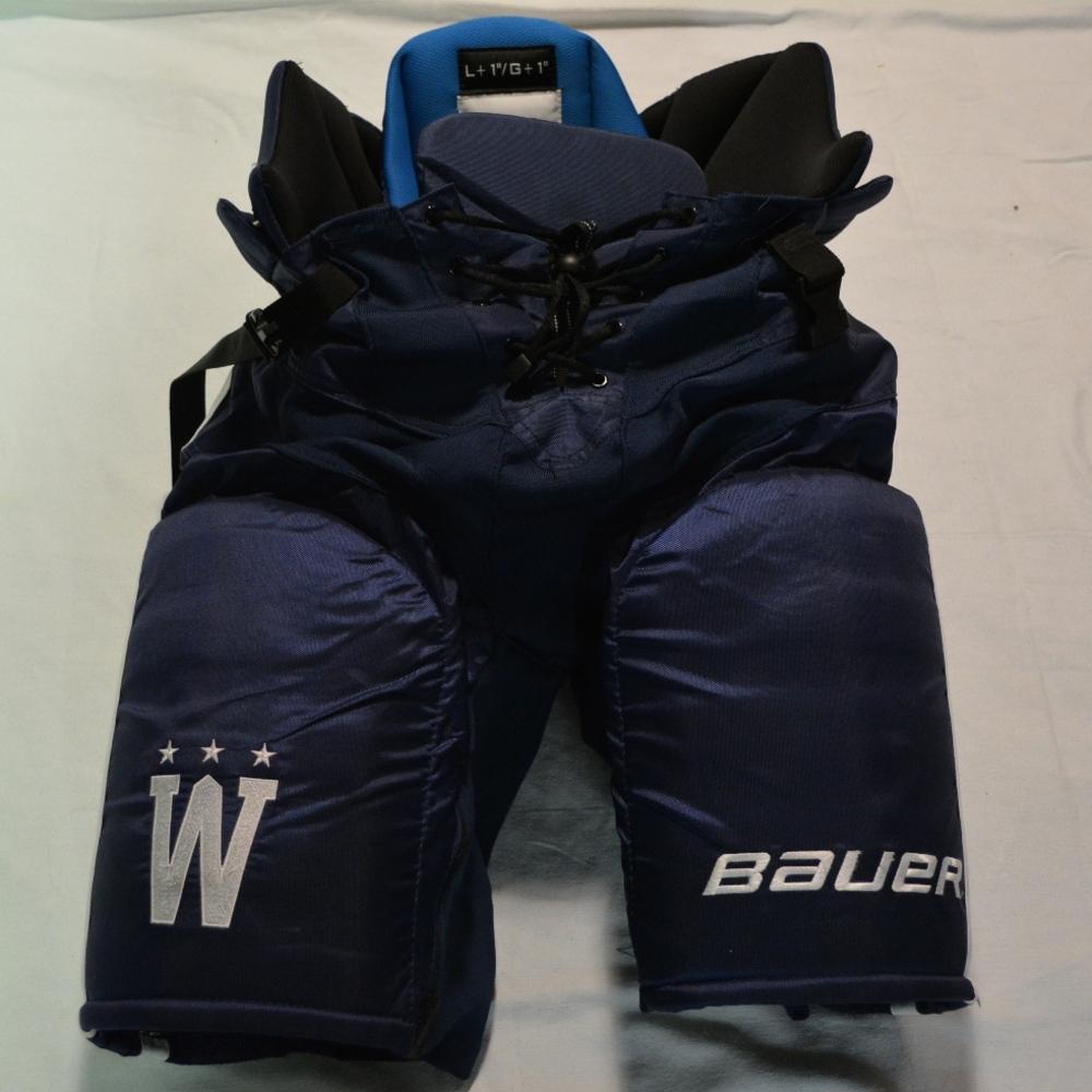 fe036ba113410d Troy Brouwer - Washington Capitals - 2015 NHL Winter Classic-Worn Pants