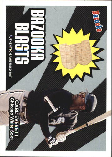 Photo of 2005 Bazooka Blasts Bat Relics #CE Carl Everett C
