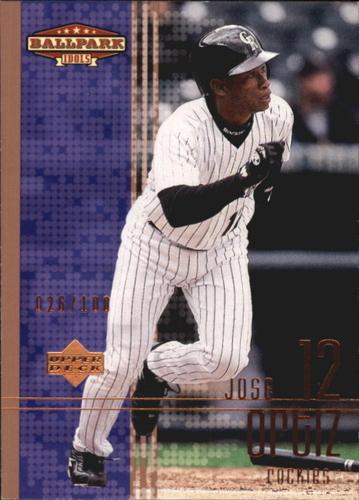 Photo of 2002 Upper Deck Ballpark Idols Bronze #196 Jose Ortiz