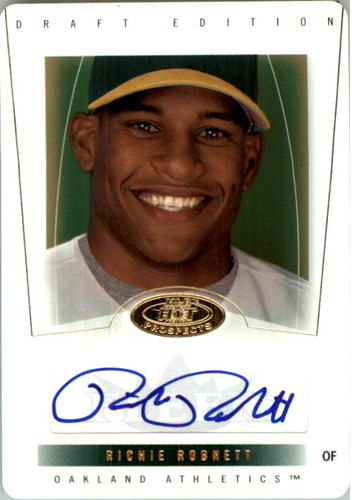 Photo of 2004 Hot Prospects Draft Die Cuts #87 Richie Robnett AU/61 *