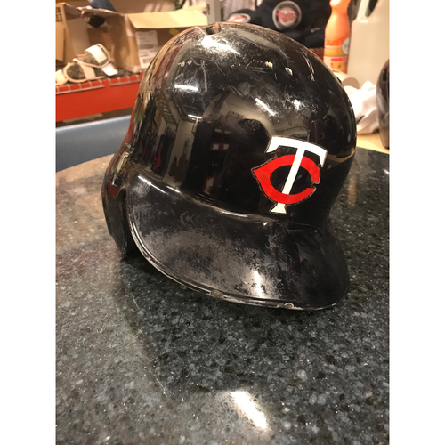 2017 Game-Used Helmet - Eddie Rosario