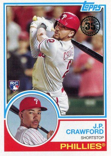Photo of 2018 Topps '83 Topps #8390 J.P. Crawford