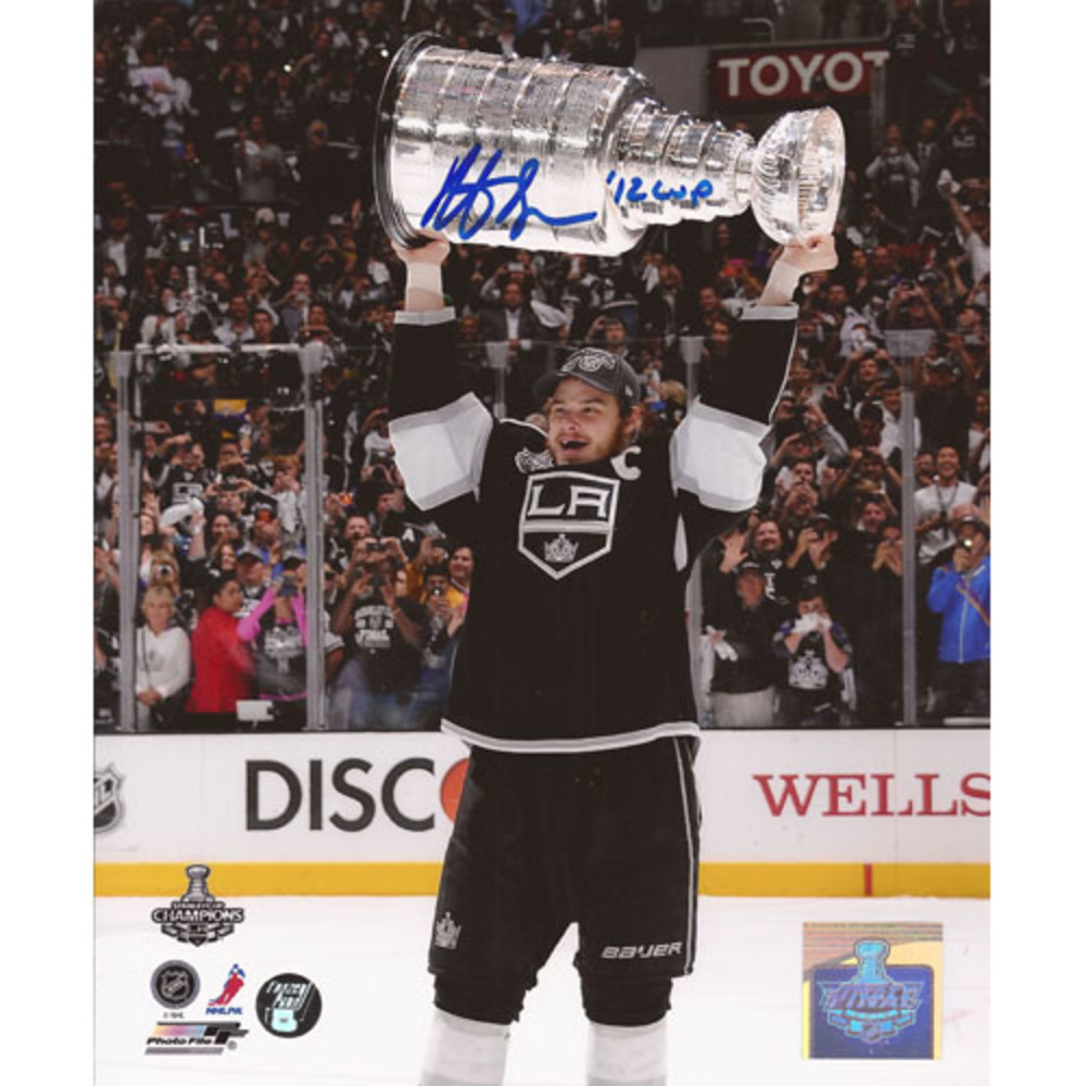 Dustin Brown Autographed Los Angeles Kings 16X20 Photo