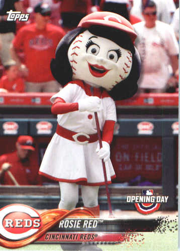Photo of 2018 Topps Opening Day Mascots #M8 Rosie Red