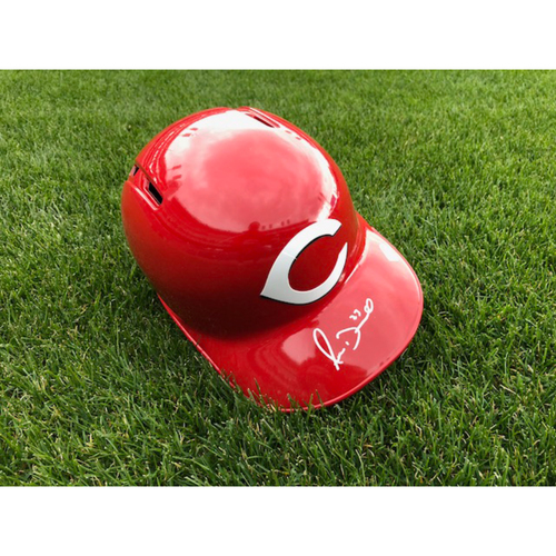 Photo of Adam Duvall -- Autographed Helmet