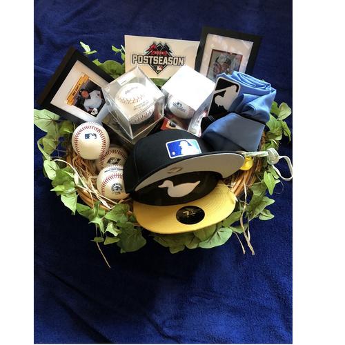 "Photo of UMPS CARE AUCTION: MLB Umpire Dale Scott ""Memory Lane"" Gift Box"