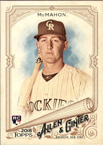 Photo of 2018 Topps Allen and Ginter #272 Ryan McMahon RC