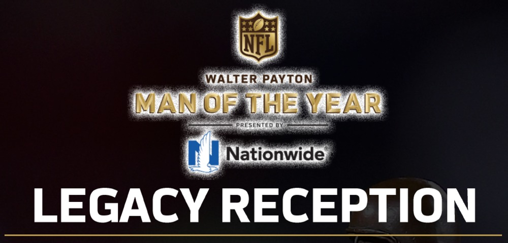 Bucs Gerald McCoy Man of the Year package -- 2 Tickets To The Walter Payton Man Of The Year Legacy Reception (1/31/19)+ Gerald McCoy Signed and Game Issue Pro Bowl Jersey